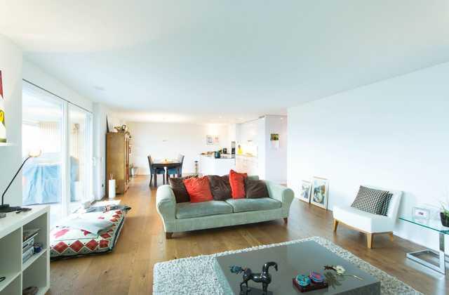 Eine Wohnung der Extraklasse: 4½ Zimmer mit zwei grossen gedeckten Terrassen