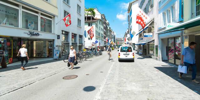 Dort wo man in Zürich einkauft